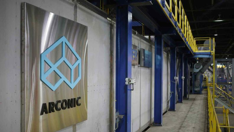 The cooling area of the Arconic Inc. manufacturing facility in Alcoa, Tenn., on Jan. 24, 2017