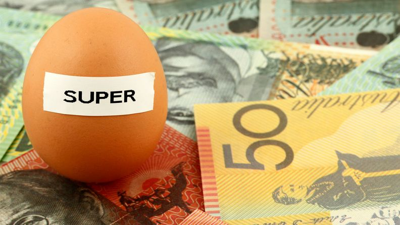 Concept for superannuation nest egg