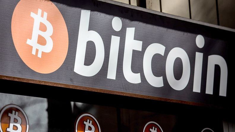 A bitcoin ATM in Barcelona