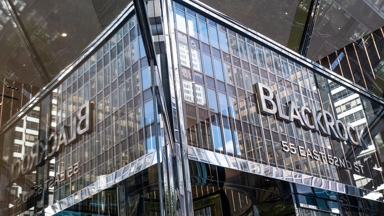 BlackRock headquarters in New York