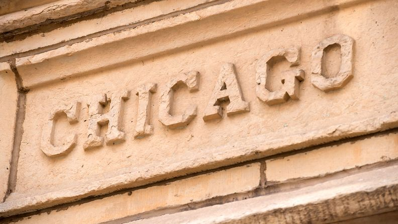 Chicago stucco text