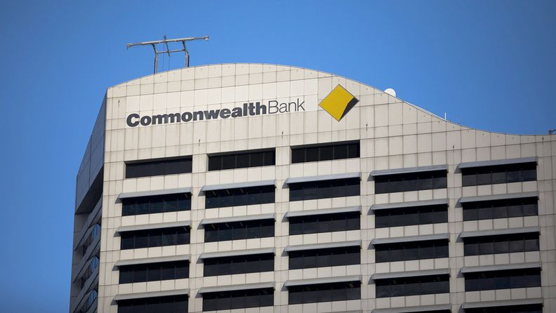 The Commonwealth Bank of Australia atop the company's offices in Sydney