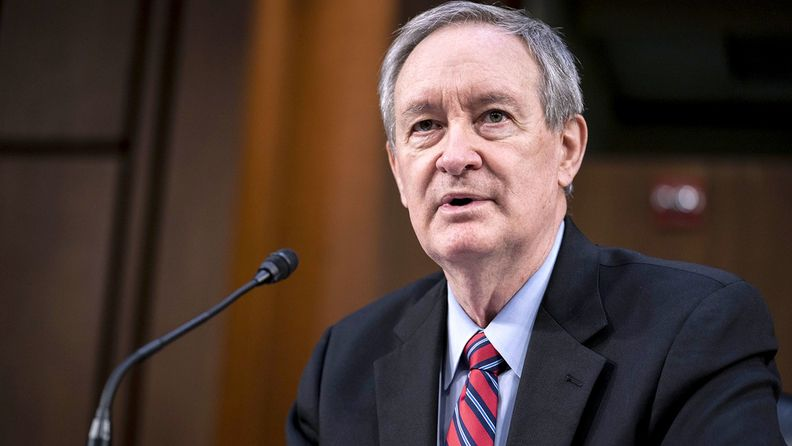 Senate Banking Committee Chairman Mike Crapo, R-Idaho