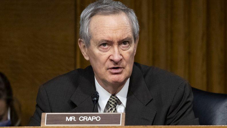 Sen. Mike Crapo, R-Idaho, a ranking member of the Senate Finance Committee