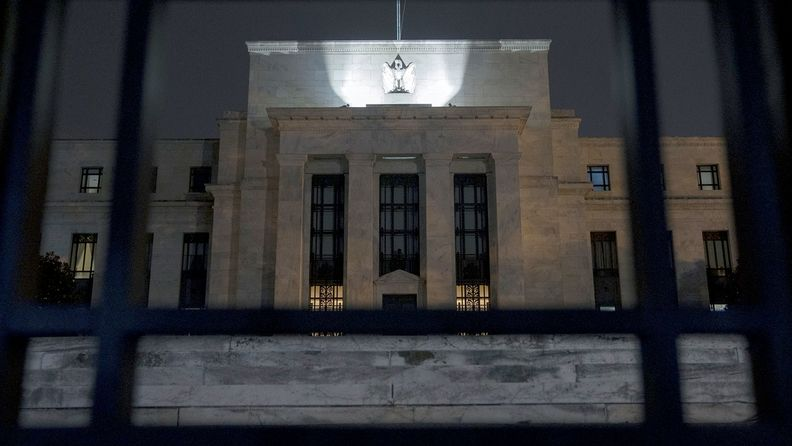 The Marriner S. Eccles Federal Reserve building in Washington on Aug. 25, 2020