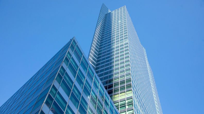 The headquarters for Goldman Sachs Group in New York
