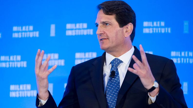 Lawrence Golub, chief executive officer of Golub Capital Inc., speaks at the Milken Institute Asia Summit in Singapore on Sept. 15, 2016