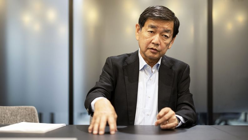 Former GPIF Chairman Eiji Hirano during an interview in Tokyo on June 23, 2021