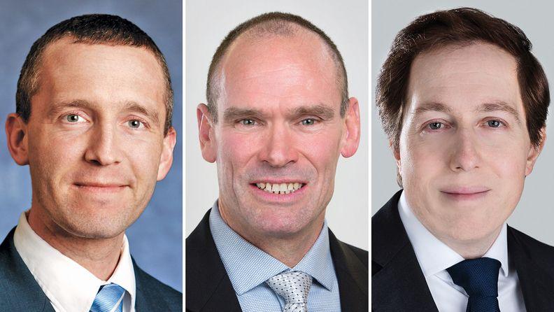 Brian Jacobsen, Kevin Kneafsey and Matthias Scheiber