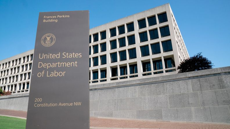 U.S. Department building in Washington on Aug. 18, 2020