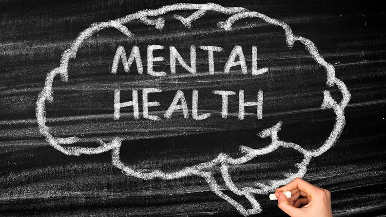 Mental Health Brain concept