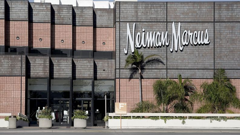 A closed Neiman Marcus store at a shopping mall in San Diego on May 7, 2020
