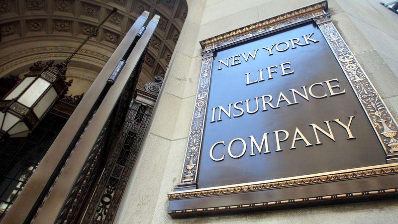 New York Life Insurance Co. sign