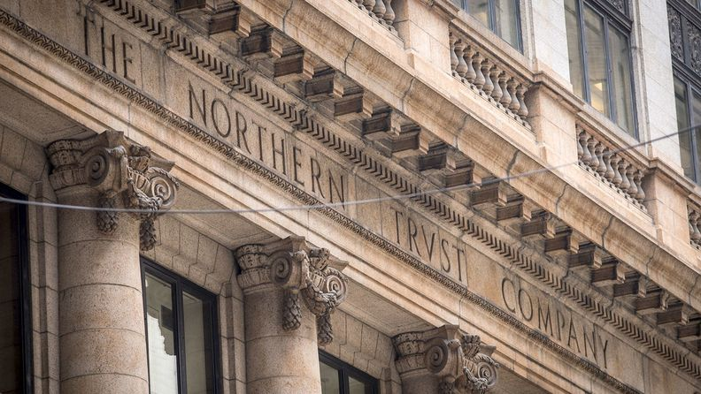 Northern Trust Co. logo headquarters, Chicago