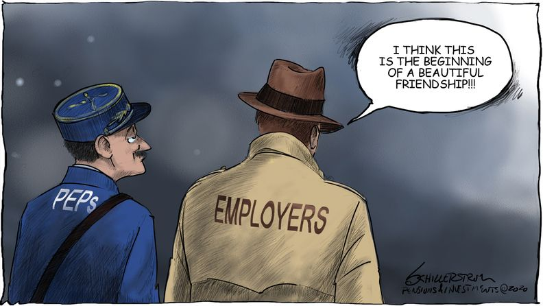 PEPs cartoon
