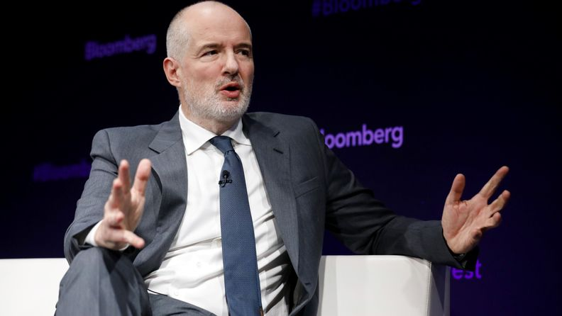 Emmanuel Roman, chief executive officer of Pacific Investment Management Co. at the Bloomberg Invest London conference in London on Oct. 8, 2019