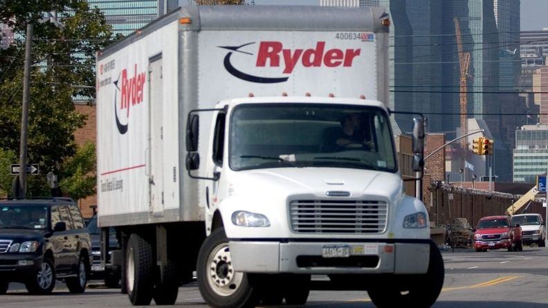 Ryder rental truck