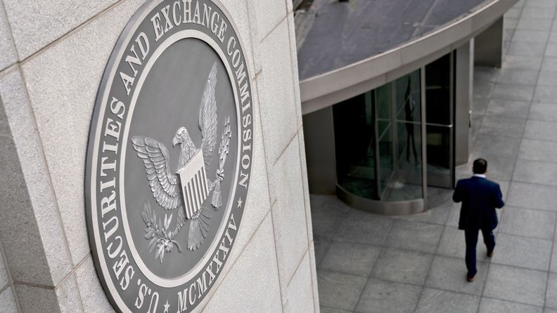 The U.S. Securities and Exchange Commission headquarters in Washington