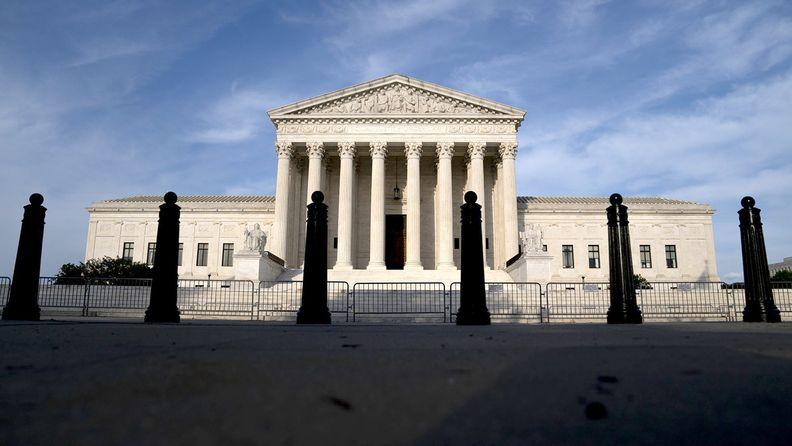 The U.S. Supreme Court building, Washington