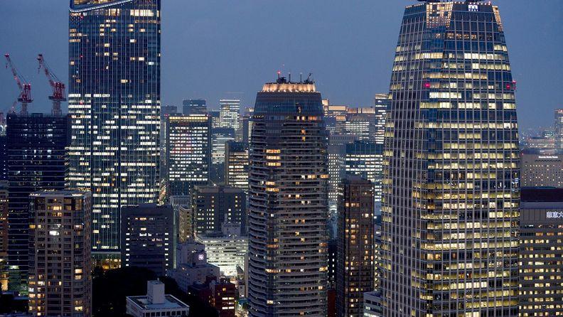 Office buildings in Tokyo