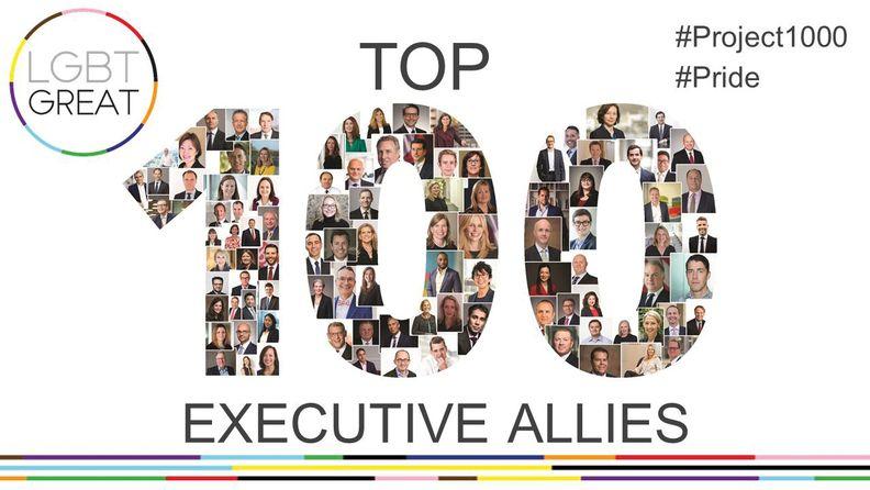 100 Executive Allies logo