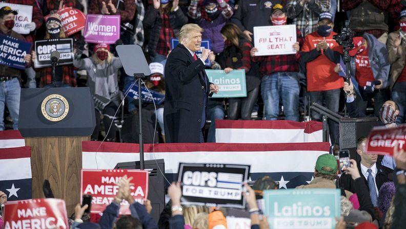 President Trump Holds 'Make America Great Again' rally In Minnesota