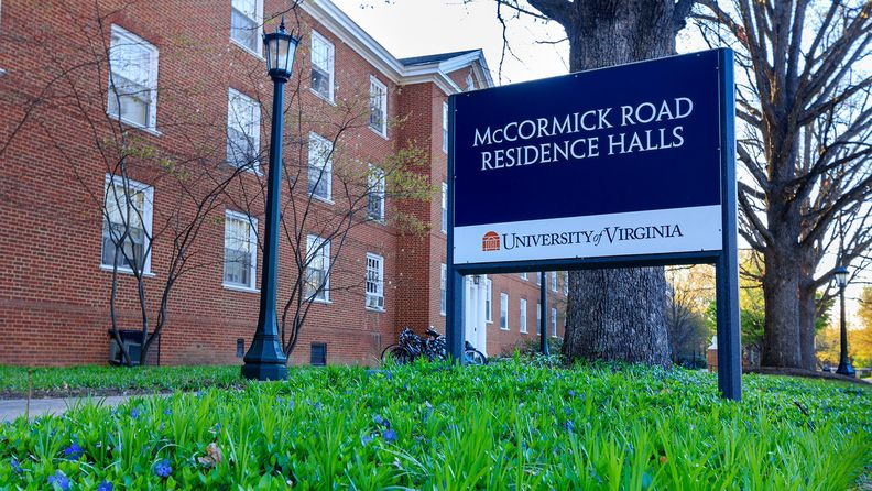 McCormick Road Residence Halls at Lambeth Field at the University of Virginia in Charlottesville, in April 2015