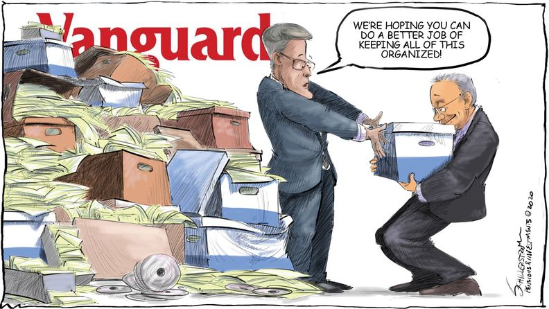 Vanguard cartoon