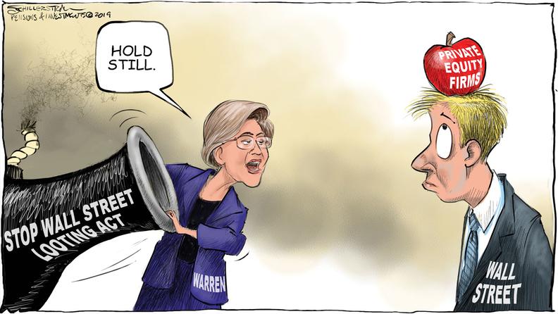 Warren PE cartoon