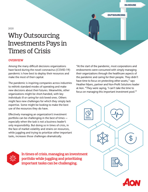 Why Outsourcing Investments Pays in Times of Crisis